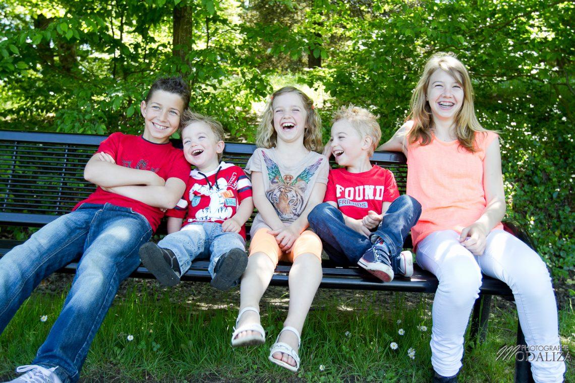 Séance photo enfants : les cousins en famille