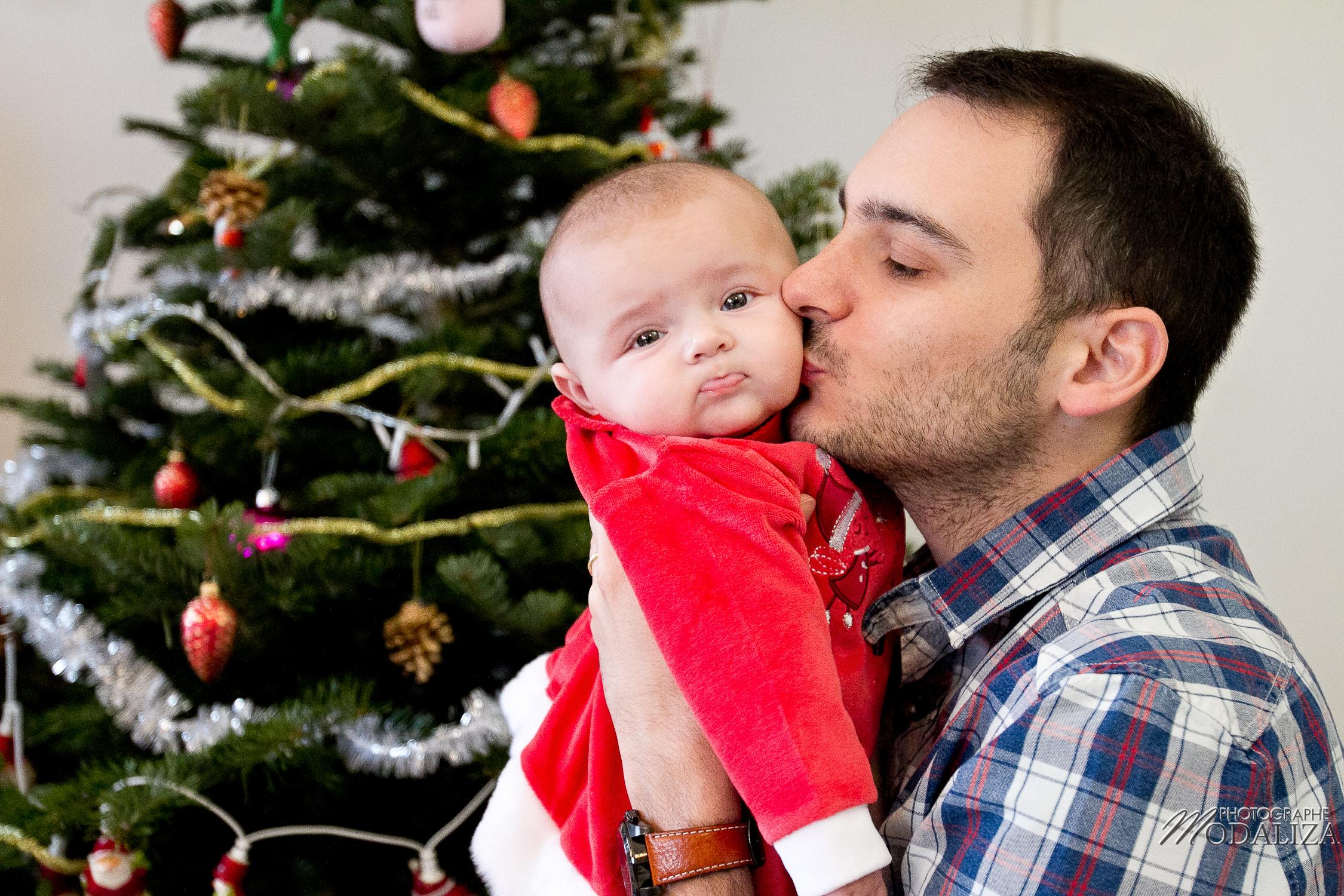 photo famille bébé petite fille robe rouge noel fêtes bordeaux aquitaine by modaliza photographe-2133