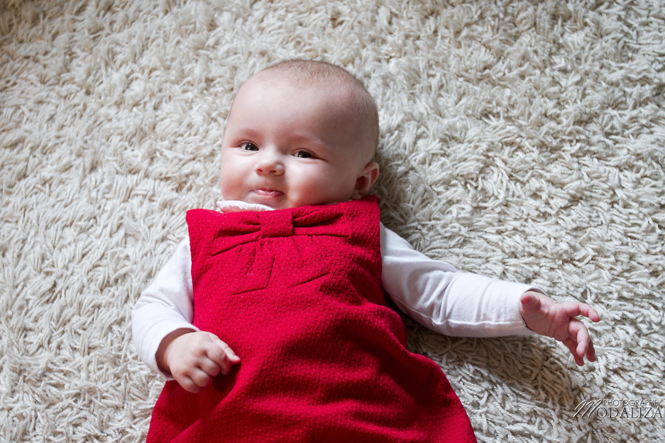 photo famille bébé petite fille robe rouge noel fêtes bordeaux aquitaine by modaliza photographe-2318