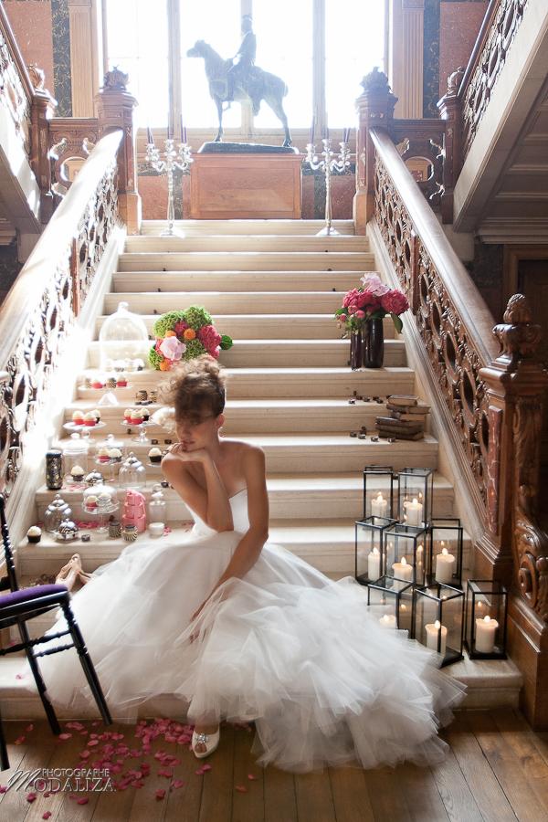 photo mode inspiration mariage decoration argent noir violet wedding bride mariée baroque rock fashion chateau grenade castle gironde by modaliza-1018