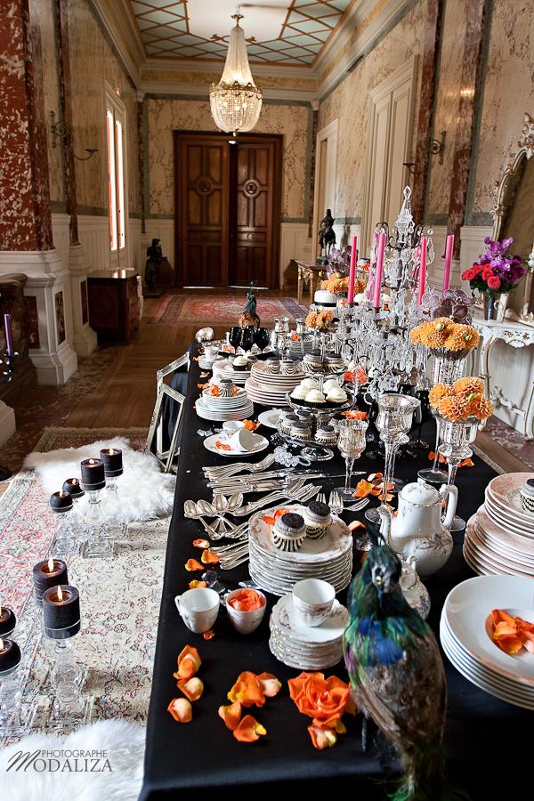photo mode inspiration mariage decoration argent noir violet wedding cupcakes baroque rock fashion chateau grenade castle gironde by modaliza-0609
