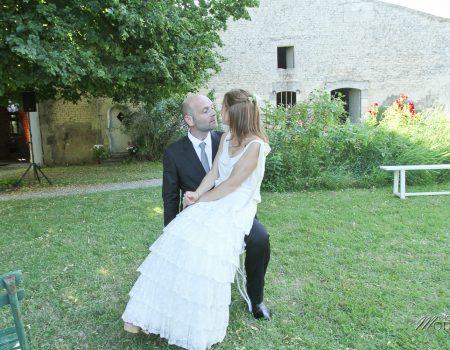 Mariage spirituel shabby chic de A&C – Bordeaux