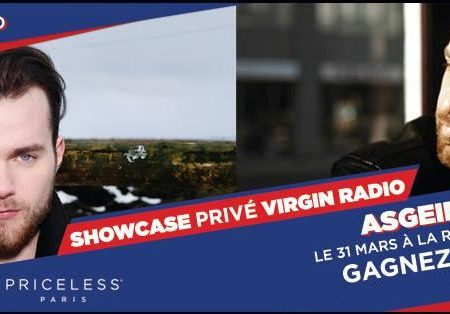 Places à gagner pour le Showcase Virgin radio