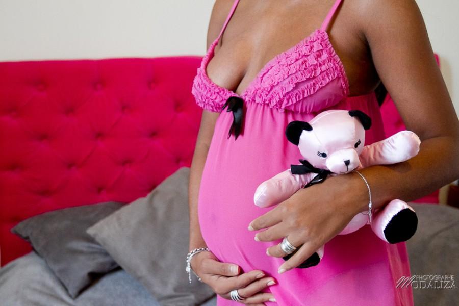 photo grossesse femme enceinte black ours rose ventre rond bordeaux aquitaine by modaliza photographe-1806