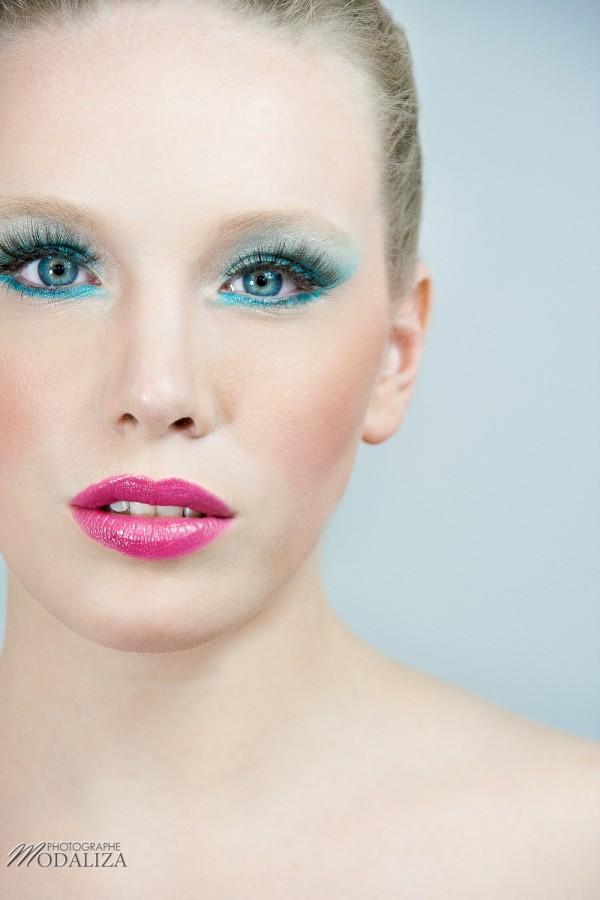 photo suany makeup beaute beauty été couleur bleu turquoise rose by modaliza-0118