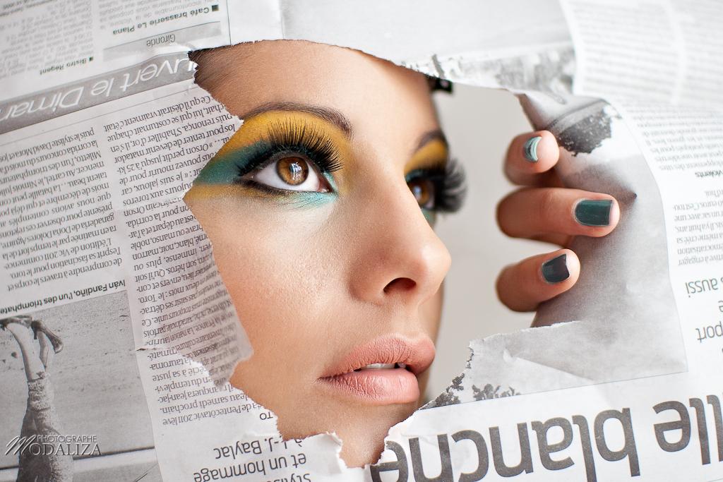 Photo Beauté: maquillage estival, nude et glamour by Suany makeup