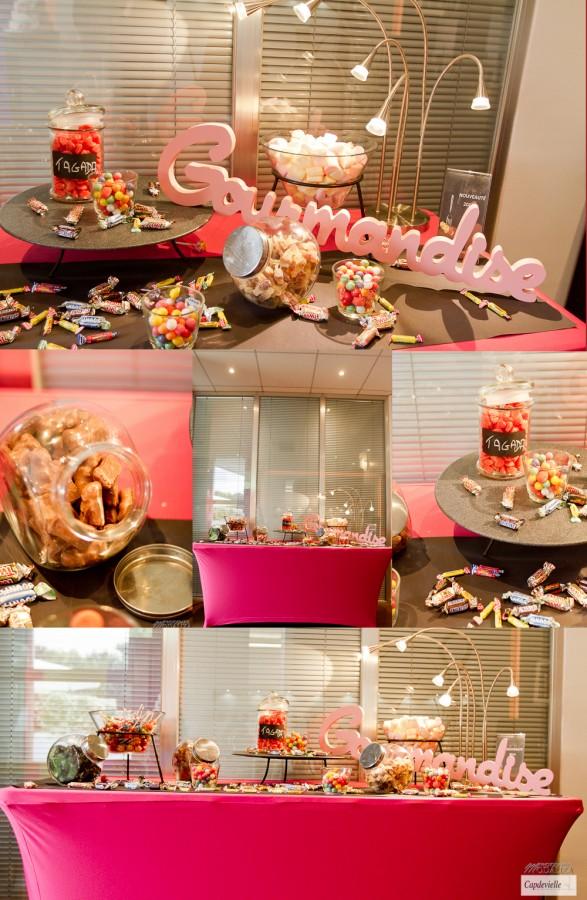 Photobooth gourmandise pour capdevielle traiteur mon - Centre de table en bonbon pour mariage ...