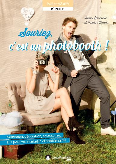 couverture livre souriez c'est un photobooth modaliza photographe baby pop's party creapassions
