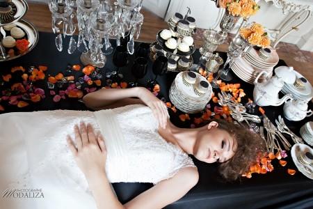 photo mode inspiration mariage decoration argent noir violet wedding bride mariée baroque rock fashion chateau grenade castle gironde by modaliza-1157