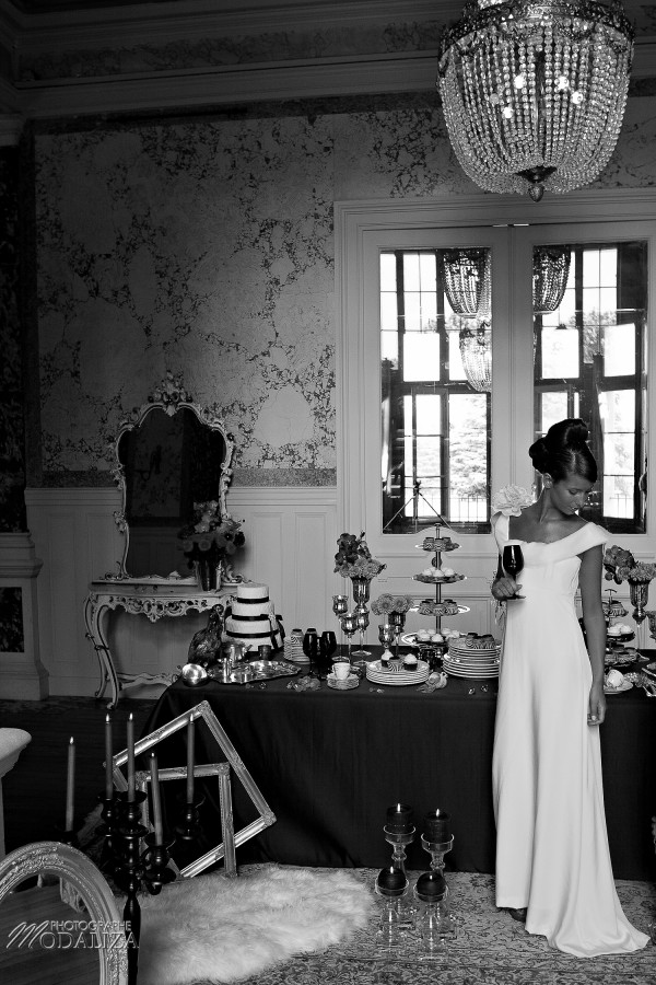 photo mode inspiration mariage decoration argent noir violet wedding bride mariée marié groom soumis baroque rock fashion chateau grenade castle gironde by modaliza-0593