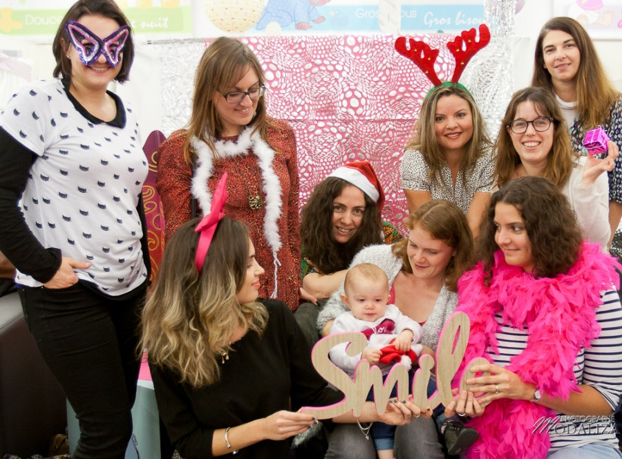 photo autour de bébé bordeaux merignac soiree maman blogueuse photobooth noel christmas by modaliza photographe-8