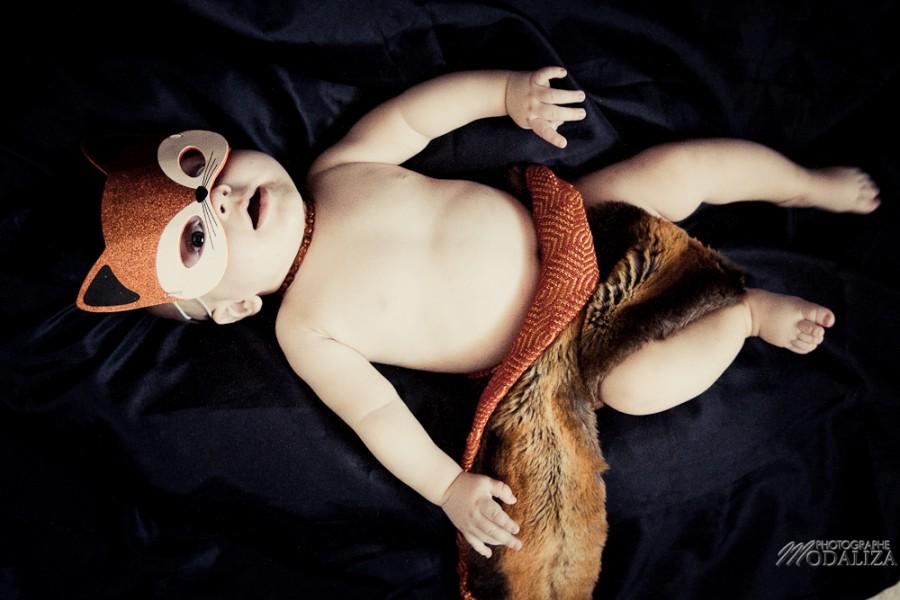 photo baby halloween bébé deguismeent orange pumkin renard fox by modaliza photographe-10