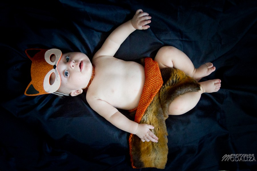 photo baby halloween bébé deguismeent orange pumkin renard fox by modaliza photographe-14
