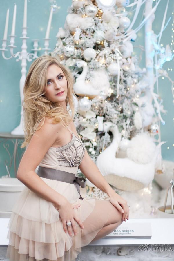 photo mode fashion woman noel christmas blanc bleu argent white blue cendrillon cinderella truffaut merignac bordeaux gironde by modaliza photographe-9921