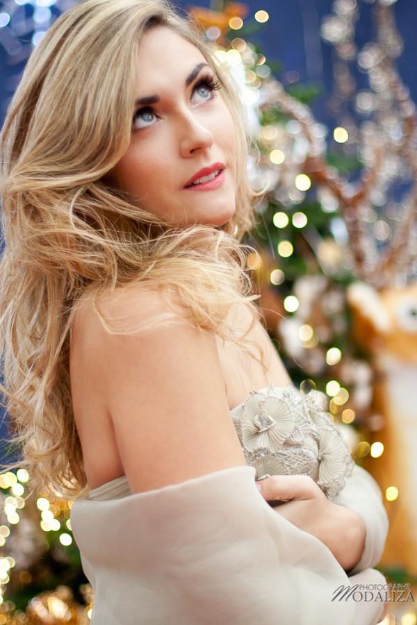 photo mode fashion woman noel christmas or bleu gold blue beauty and the beast belle et la bete truffaut merignac bordeaux gironde by modaliza photographe-9884