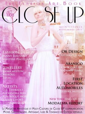 Closeup mag couverture modaliza report