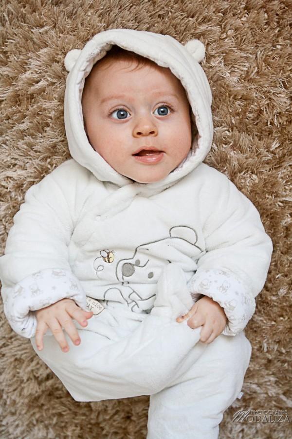 photo bébé baby boy petit ours blanc bears winny l'ourson bordeaux gironde by photographe-0647