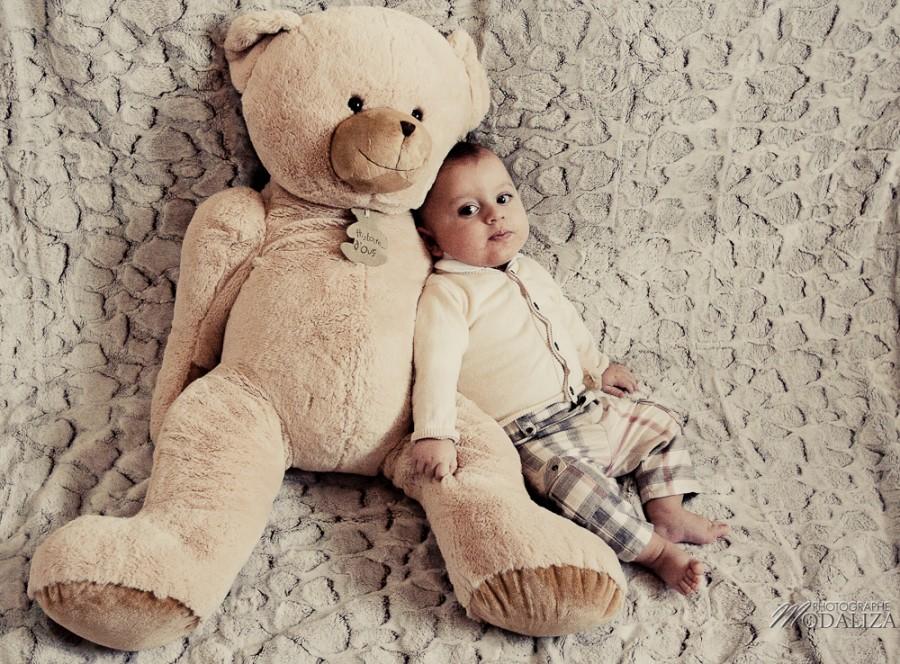 photo bébé fashion burberry baby boy ours bear pelucheby modaliza photographe-1