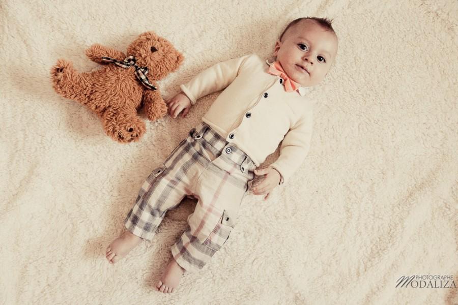 photo bébé fashion burberry baby boy ours bear pelucheby modaliza photographe-2