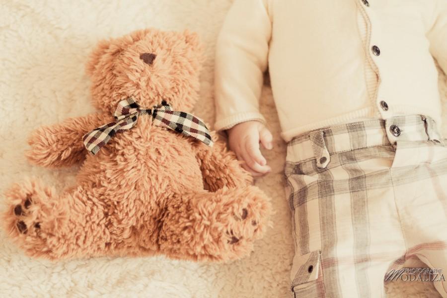 photo bébé fashion burberry baby boy ours bear pelucheby modaliza photographe-3