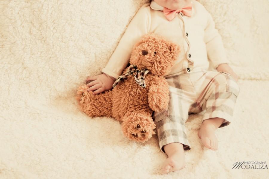 photo bébé fashion burberry baby boy ours bear pelucheby modaliza photographe-6