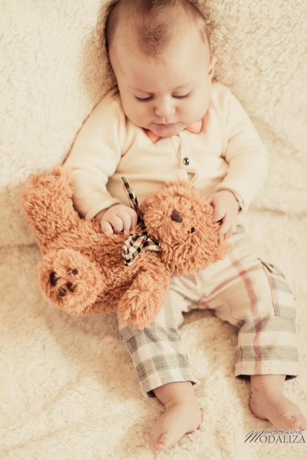 photo bébé fashion burberry baby boy ours bear pelucheby modaliza photographe-7