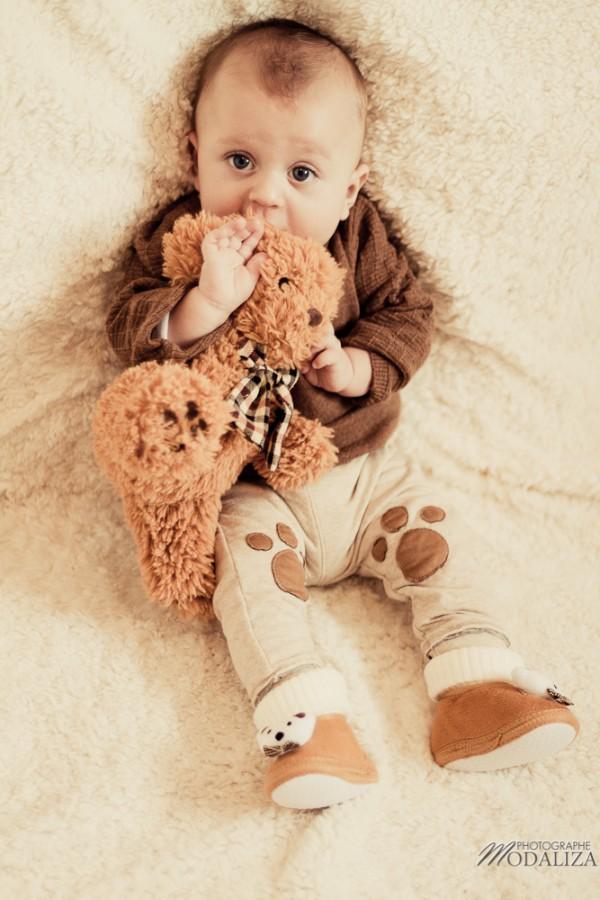 photo bébé fashion zara kids baby boy ours bear pelucheby modaliza photographe-2