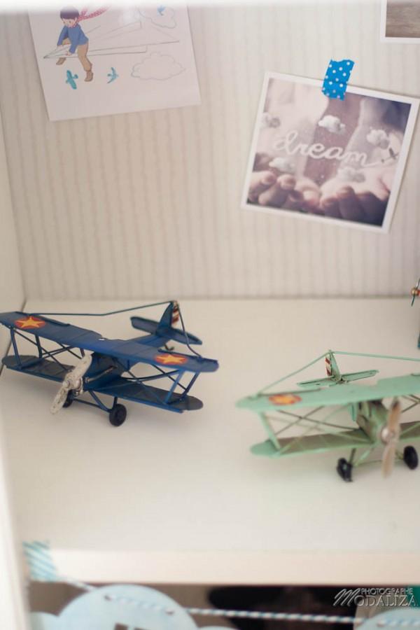 photo chambre bébé avion aviateur etoile nuage bleu moulin roty by modaliza photographe-12