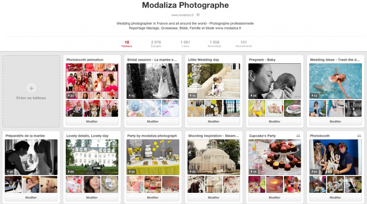 Idées et inspiration Pinterest pour de jolis jours, de jolies séances