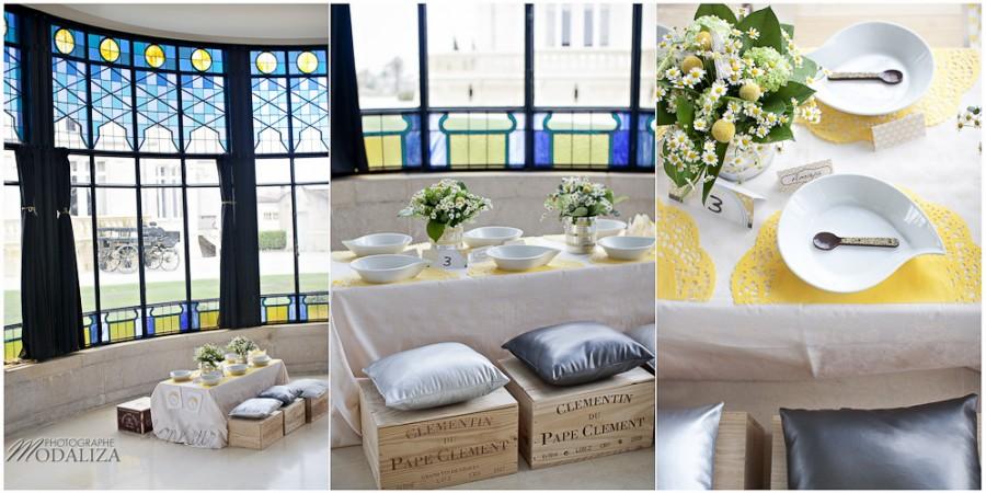 décoration de table chateau pape clement by modaliza