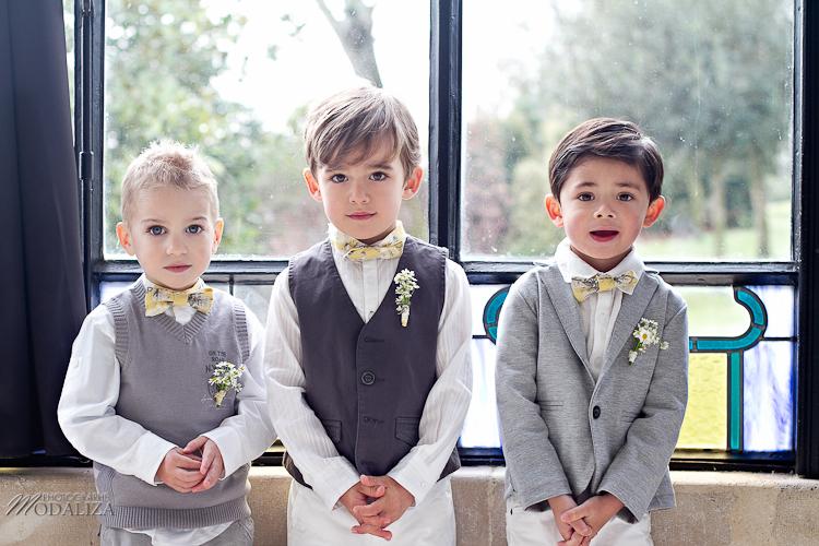 photo cérémonie enfants mariage jaune amour d'enfance little wedding yellow bordeaux chateau pape clement by modaliza -6188