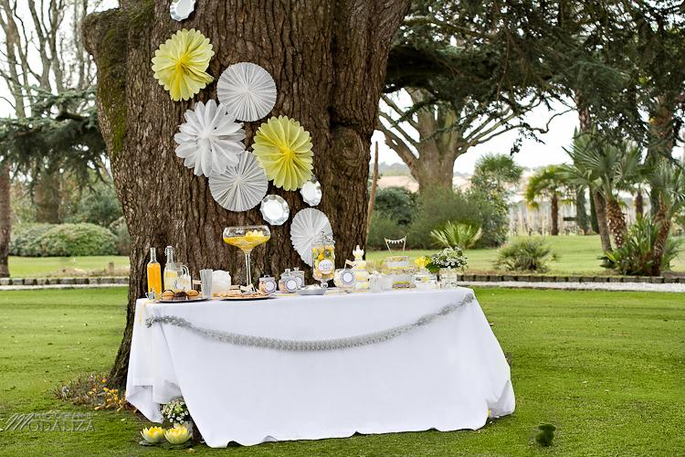 photo cérémonie enfants mariage jaune amour d'enfance little wedding yellow bordeaux chateau pape clement by modaliza -6333