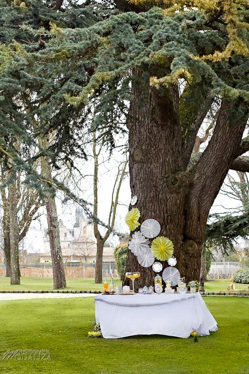 photo cérémonie enfants mariage jaune amour d'enfance little wedding yellow bordeaux chateau pape clement by modaliza -6360
