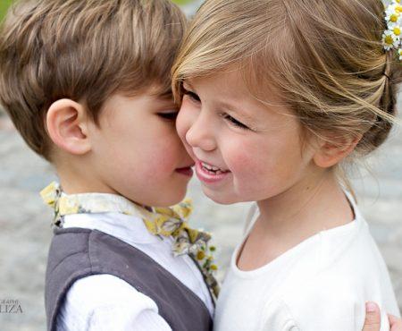 Inspiration mariage : Amour d'enfance