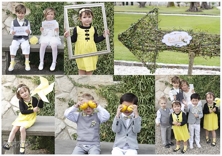 photo yellow photobooth child wedding by modaliza