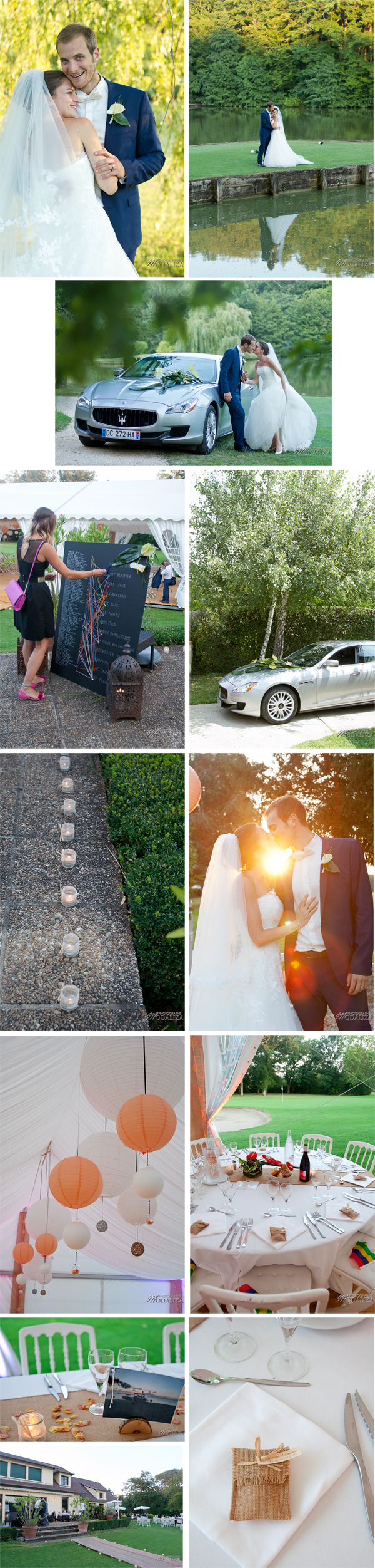 photo mariage couple bride groom wedding aquitaine sudouest toulouse golf palmola by modaliza photographe