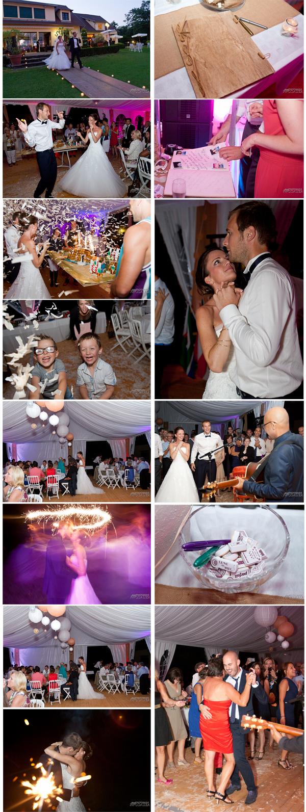 photo mariage reception chapiteau soirée bride groom wedding party aquitaine sudouest toulouse golf by modaliza photographe