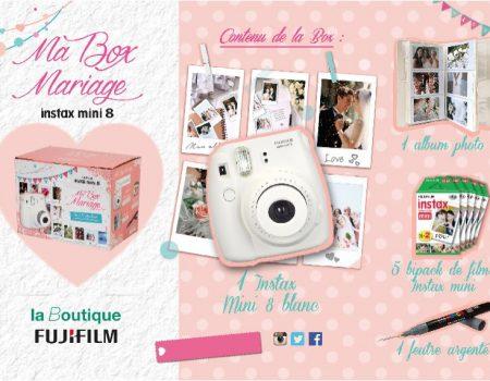 Box mariage instax & DIY photobooth