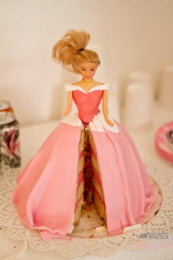 anniversaire petite fille princesse disney rose gateau barbie babypopsparty by modaliza photographe-9681
