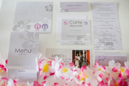 photo faire part mariage papeterie rose pink vacances hawai by modaliza photographe-7618