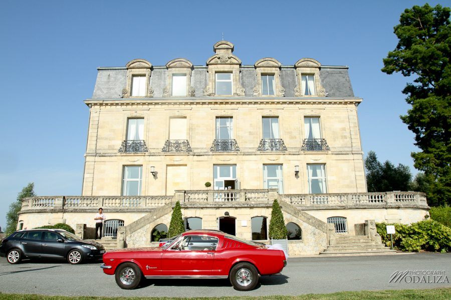 photo mariage bordeaux chateau grattequina ford mustang by modaliza photographe-6