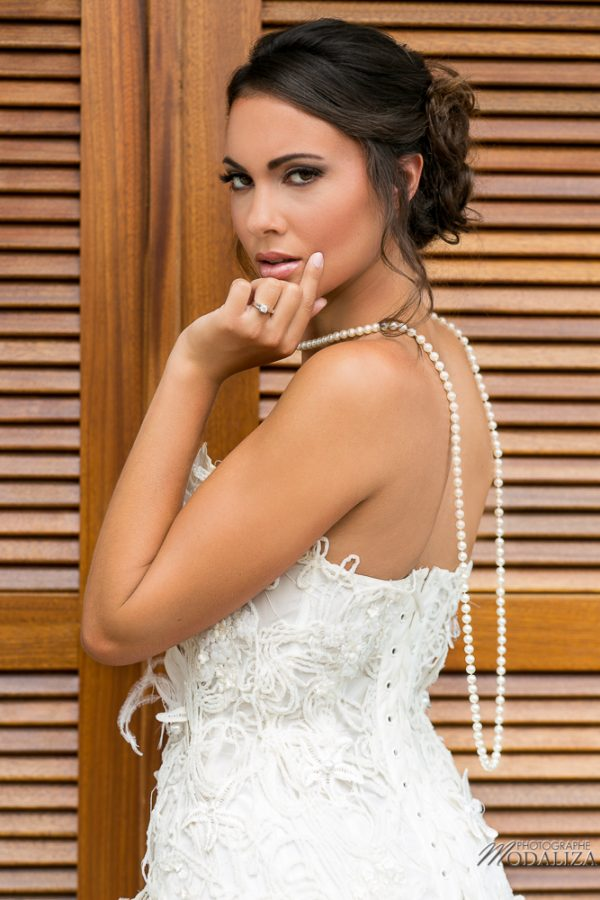 photo shooting inspiration mariage Malairie Eugènie wedding dress lace boho chic dentelle natural etoile de mer bois wood white blanc suany makeup pixie coiffure bride to be france by modaliza photographe-4942