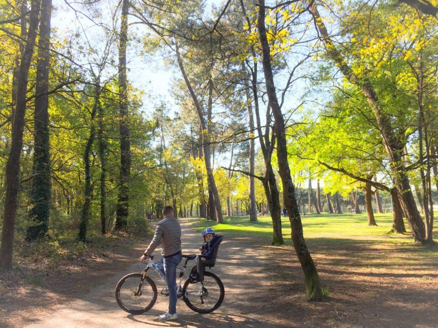 balade velo en foret pessac merignac bordeaux parc du burck modaliza blog