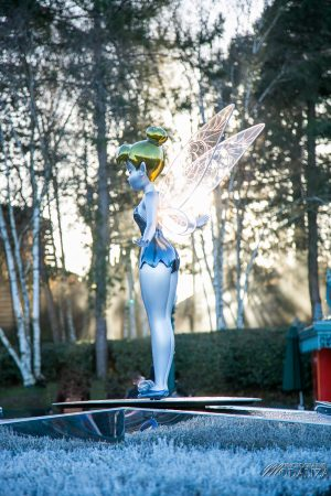 photo disneyland paris noel decembre clochette tinker bell by modaliza photographe