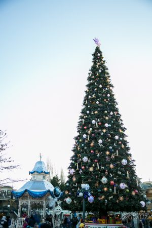 photo disneyland paris noel christmas tree disney decembre 2017 by modaliza photographe