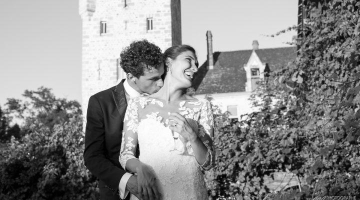 Mariage a Bordeaux et chateau de Grignols – L&T