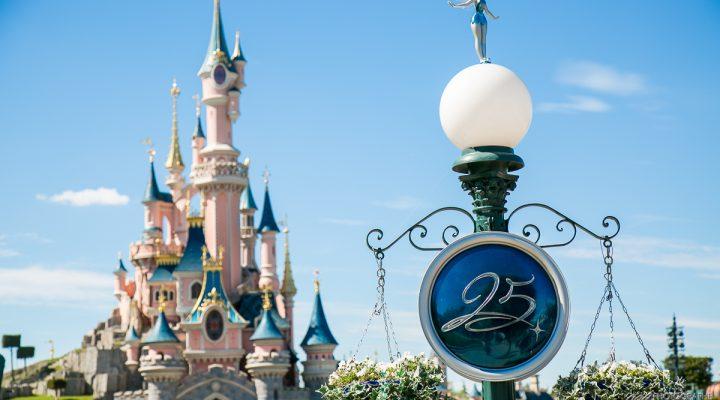 Disneyland Paris 25 ans + son anniversaire