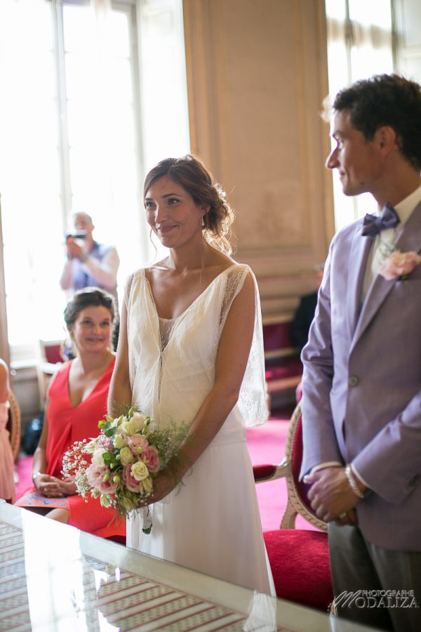 photo mariage wedding ceremonie civile bride boheme chic mairie bordeaux gironde by modaliza photographe-154