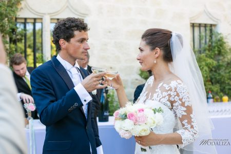 photo mariage wedding robe dentelle couple cocktail chateau grignols domaine dame blanche gironde by modaliza photographe-135