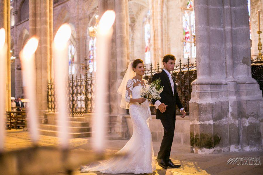 photo mariage wedding robe dentelle eglise church cathedrale bazas gironde by modaliza photographe-276